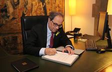 El DOGC publica el decret de nomenaments dels consellers del Govern de Quim Torra
