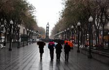 Activada l'Alerta del Pla INUNCAT per les precipitacions previstes a partir de la nit