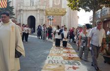 Els carrers de les Borges s'ompliran de catifes de flors per la Capvuitada