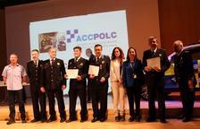 Reconeixement al cap de la Policia Local de Vandellòs i l'Hospitalet per la seva trajectòria professional