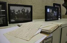 Un centenar de visitants s'endinsen en el llegat del president Tarradellas dipositat al Monestir de Poblet