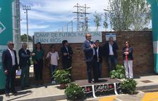 L'estadi municipal 'Juan Ríos' de Calafell ja és a punt per acollir les competicions de futbol dels Jocs Mediterranis