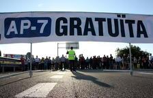 El moviment per l'AP-7 gratuïta convertirà el seu tall 200 en un record als 40 anys de la tragèdia dels Alfacs