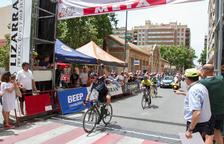 Francisco García es proclama a Reus vencedor de la Volta Ciclista a la província