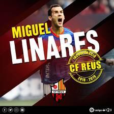 Miguel Linares es converteix en la primera alta del Reus 2018-19