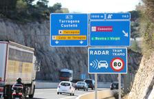 Els radars més 'productius' durant el 2018 van ser els de les carreteres de  Tarragona