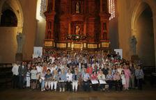 Els padrins de l'orgue de Valls es reuneixen a l'esglèsia de Sant Joan