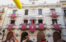 El 'Àliga' da la bienvenida en la Festa Major de Sant Joan de Valls