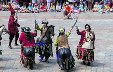 El Ball de Cavallets i la Banda Simfònica faran «l'índiu» la nit del 26