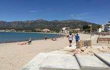Les platges de Vandellòs i Hospitalet de l'Infant ja estan llestes per l'estiu