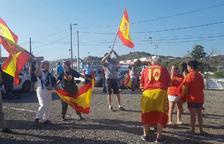 Els CDR de Tarragona 'contraprogramen' la concentració de suport de VOX al rei Felip VI