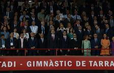 El Rei titlla de «gran actuació» el paper d'Espanya als Jocs Mediterranis