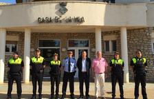Quatre nous agents reforcen la Policia Local de Vandellòs i l'Hospitalet durant l'estiu