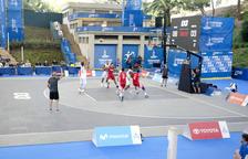 Última jornada de bàsquet a l'Auditori Camp de Mart