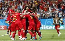 Remontada de campeona de Bélgica ante el valiente Japón (3-2)