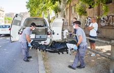 Encuentran un sintecho muerto en una nave en el paseo Independència de Tarragona