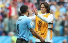 Francia se disfraza de Uruguay y gana con goles de Varane y Griezmann