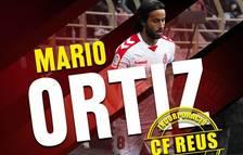 El migcampista Mario Ortiz reforça el Reus Deportiu