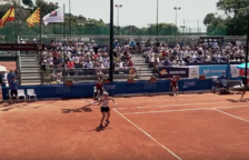 La prova de tennis dels Jocs Mediterranis, en un recull d'imatges