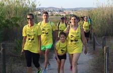 Un centenar de participants a la XV Caminada Popular de la Festa Major de Sant Jaume