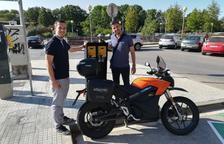 Valls completa l'estació de recàrrega amb el servei de motos