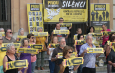 'Silenci. Rebel·leu-vos' celebrarà dimarts 200 dies de protesta