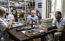 L'escriptor Juan Marsé es reuneix en una trobada amb el club de lectura de l'ICAT