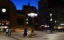 El fanal de la plaça Corsini s'encendrà a partir d'aquest dijous