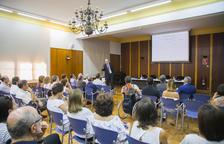 Grau presenta la Regió del Coneixement a la Comissió Clínica de Sanitat