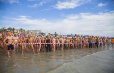 Eric Vilaregut s'endú la 31a edició de la Travessia a la platja de La Pineda