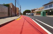 L'Arboç habilita el primer carril bici del municipi