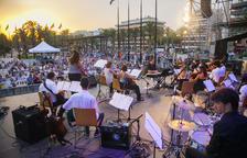 Salou vibra amb la música de la Jove Filharmònica Catalana
