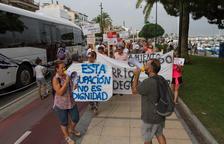 El moviment contra les ocupacions a Vilafortuny es manifesta a Cambrils