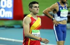 Bruno Hortelano es queda sense batre el seu propi rècord d'Espanya en els 100 metres