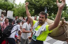 Rubén Guillén, campeón de la Combinada de sacos de avellana 2018