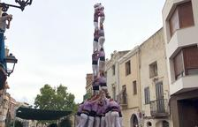 La Jove de Tarragona descarrega sis castells diferents en un sol dia
