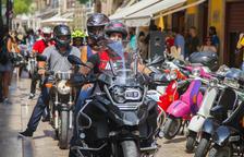 Las fiestas de Sant Roc arrancan con un gran encuentro de motos