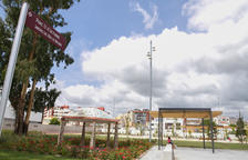 L'Ajuntament de Reus reposa la placa amb el nom del Parc U d'Octubre