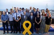 Alcanar agraeix la tasca dels serveis d'emergències i de la societat civil amb motiu de l'explosió de fa un any