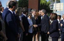 Tensió entre Torra i García Albiol en l'acte d'homenatge a les víctimes del 17-A a Cambrils