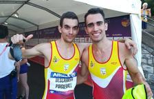 Gerard Descarrega es proclama campió d'Europa en els 400 metres