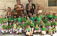 Els Grallers i Gegants de l'Espluga, a la Festa Major de Vallclara