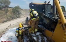 Crema un tractor agrícola a Santa Coloma de Queralt