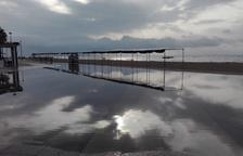 Las lluvias causan inundaciones y provocan incidencias en las carreteras del Camp de Tarragona