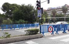 Salou revisa el estado de todos los semáforos después de que algunos se hayan estropeado