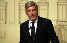 Marlaska descarta que els requeriments per carta al Govern siguin el pas previ al 155