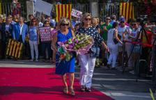 Ballesteros aprofita l'ofrena de la Diada per remarcar el seu rebuig a l'empresonament dels presos independentistes