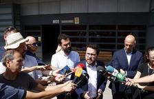 Torrent y Aragonés, después de visitar a Forcadell: «Ninguna democracia puede aguantar una presidenta del Parlamento en la prisión»