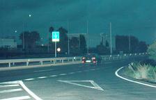 Detingut per circular a 171 km/h en un tram limitat a 80 a la C-31b, a la Canonja