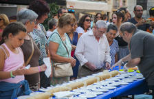 Tarragona es menja 75 metres de pastís en el preludi dels darrers dies de festa